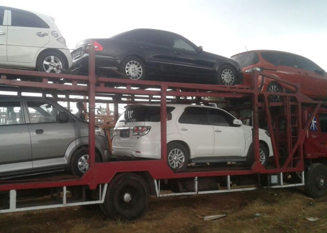 Kirim Mobil Via Car Carrier